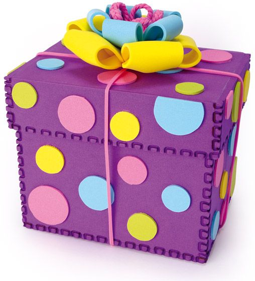 Caja Para Regalo Hecha Totalmente De Fomi Crafts And Inspiration