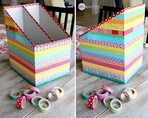 Cajas De Carton Decoradas Cart N Juntamos Creatividad Y Decoraci