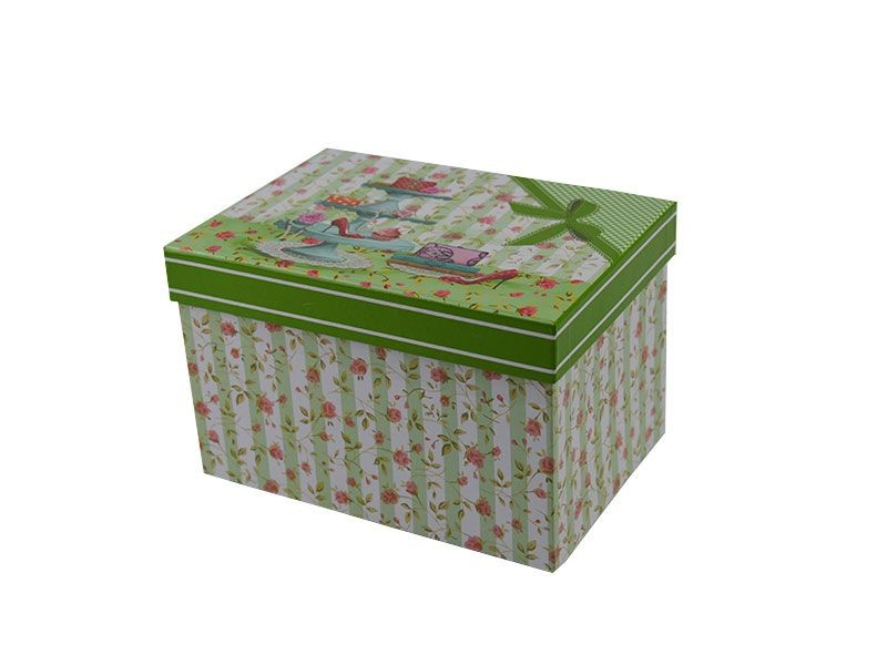 Cajas De Carton Decoradas Cart N Para Guardar Tres A1group Co