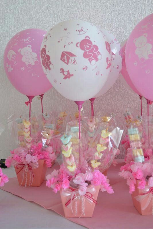 Centro De Mesas Para Baby Shower Decoraciones