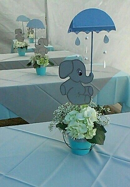 Centros De Mesa Para Baby Shower Hermosos Diapers And Babies