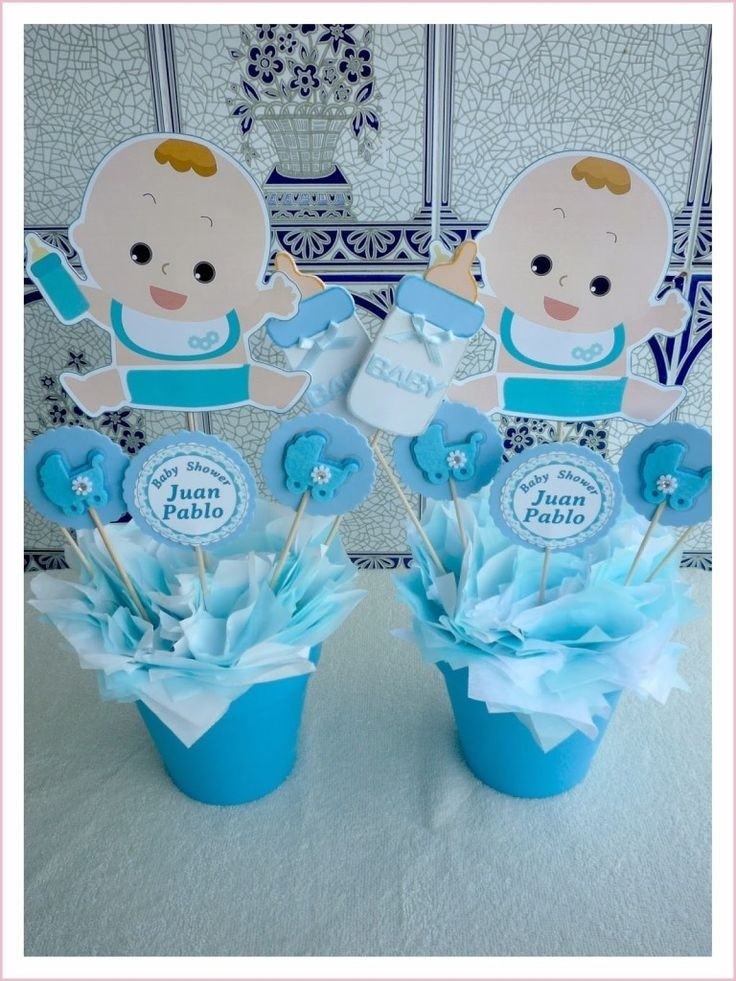 Centros De Mesa Para Baby Shower Hermosos Diapers And Babies Ipsita
