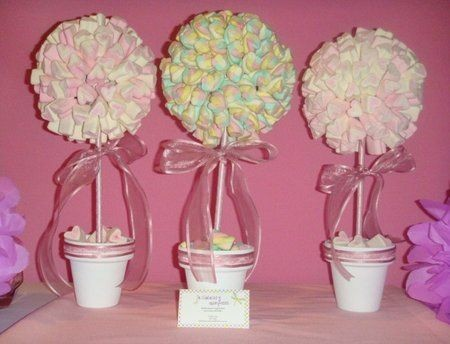 Centros De Mesa Para Baby Shower Hermosos Diapers And
