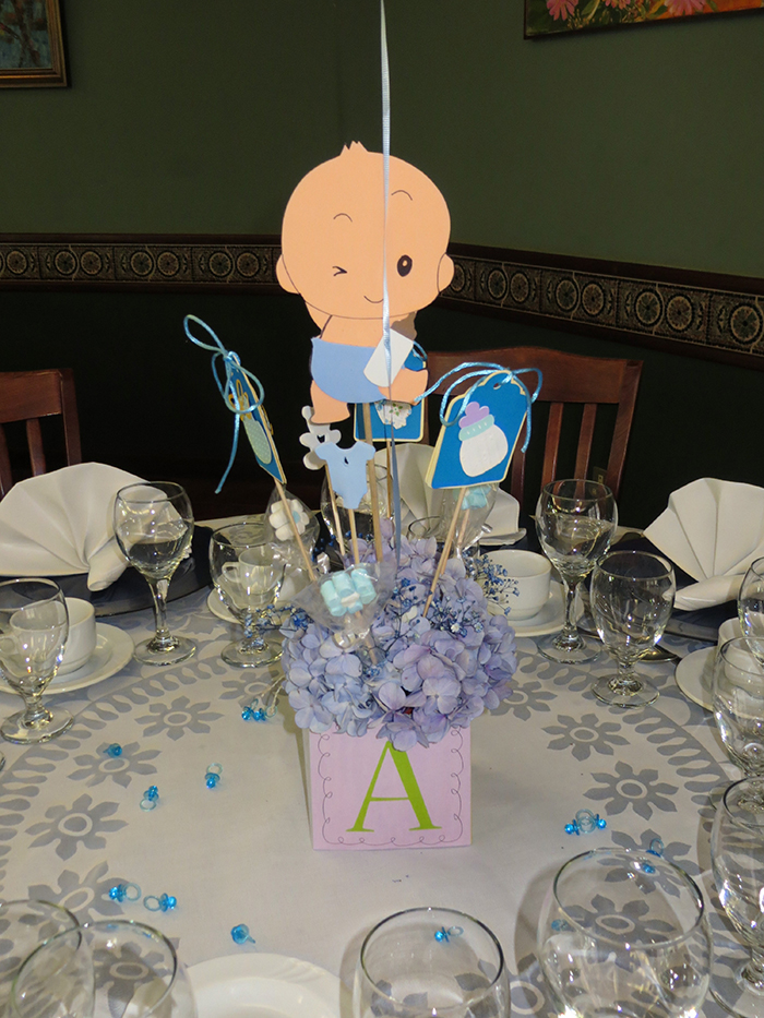 Centros De Mesa Para Baby Shower Ni O Image Cabinets And