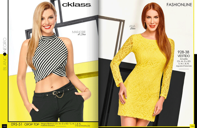Cklass Ropa Coleccion Pv 2016 Fashion Digital LookPLUS2 Pinterest