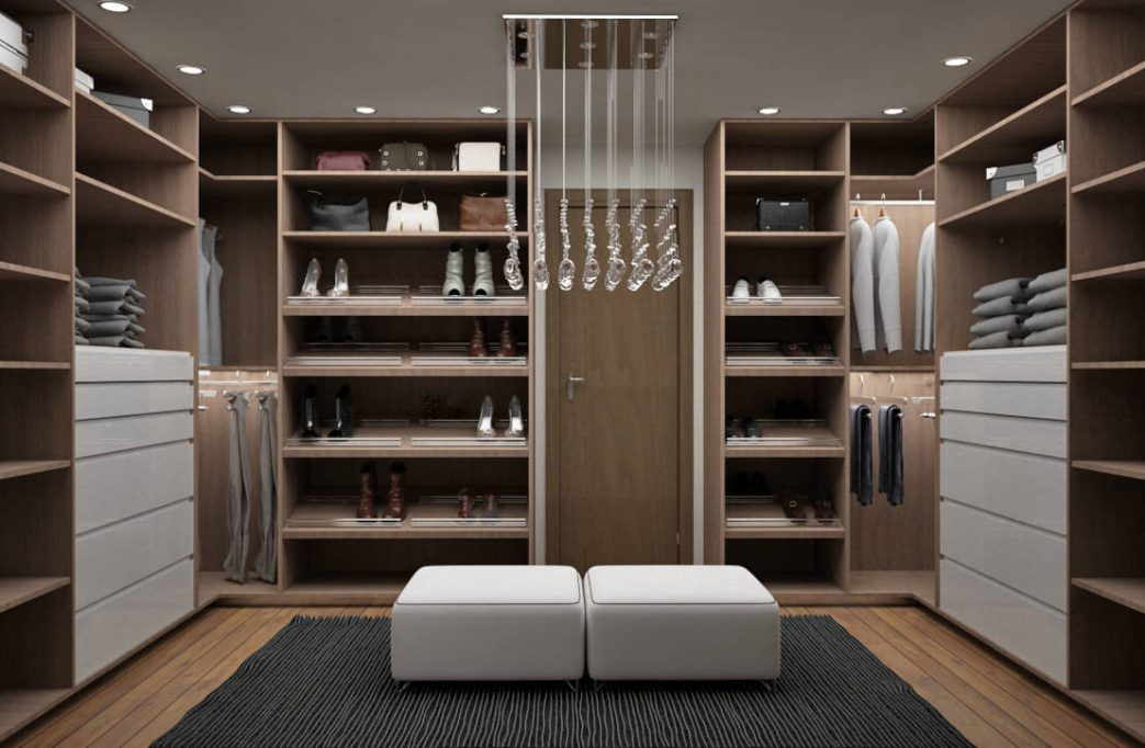 Closet De Madera Con Espejo Full Size Of Closets Modernos