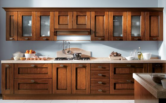 Cocina Estilo Rustico De Madera Cerezo The Kitchen S In 2018