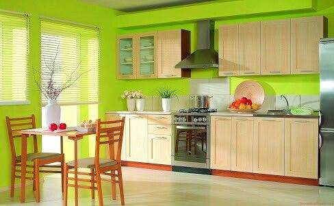 Cocina Verde Limon Kitchens And Dining Rooms Pinterest Kitchen