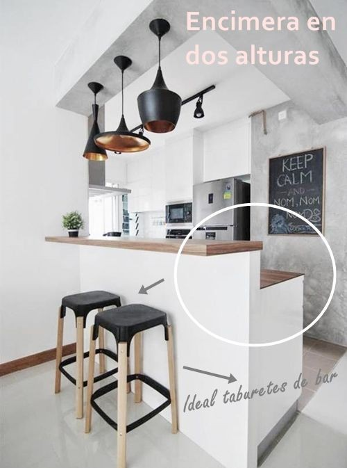 Cocinas Con Barra Barras De Cocina Pinterest House A1group Co