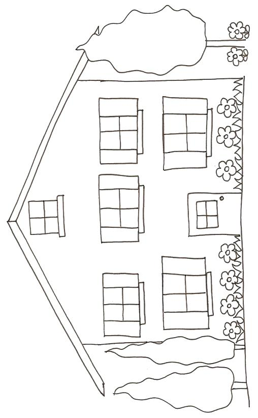 Coloriages De La Maison S A 4 Coloriage