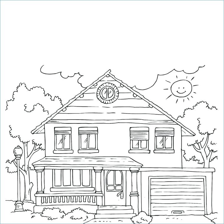 Coloriages De La Maison Ssin Coloriage Mickey A