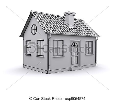 Comment Dessiner Des Maison Simple Dessin De En 3d Id Es