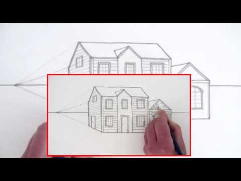 Comment Dessiner Une Maison En Perspective YouTube