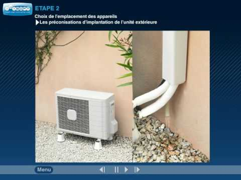 Comment Installer Une Clim Reversible Id Es D Coration