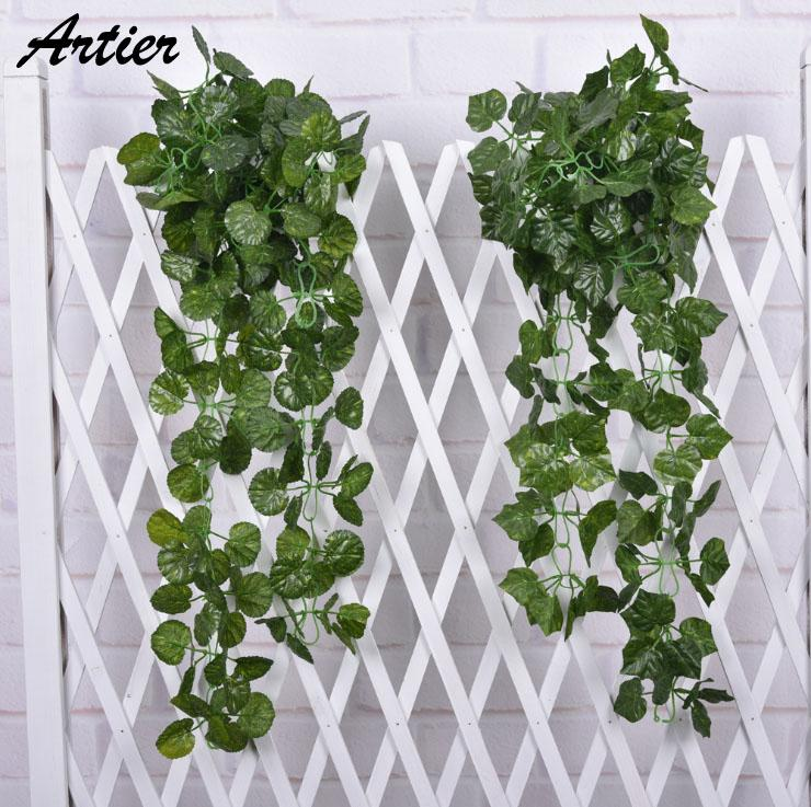 Compre Al Por Mayor Ivy Artificial Garland Leaf Plants Vine Fake