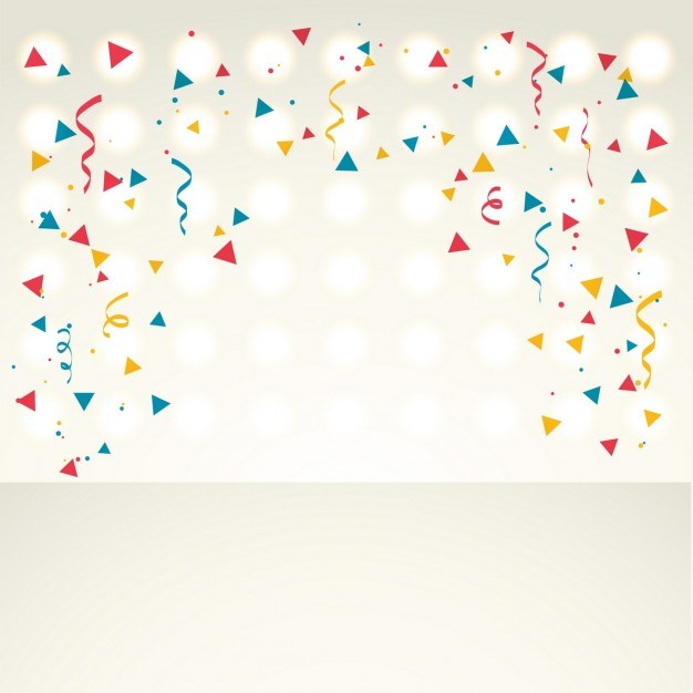 Confetti New Year Backgrounds Merry Christmas And Happy 2018