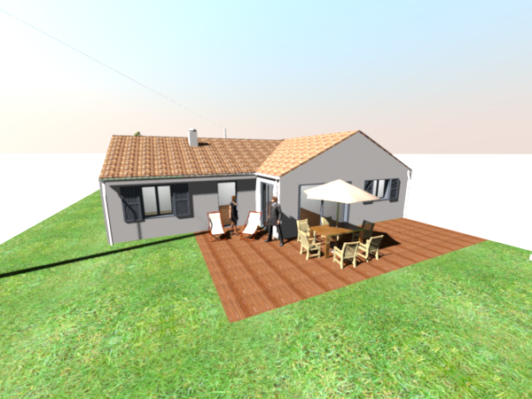 Construction De La Maison En 3D Avec Sweet Home