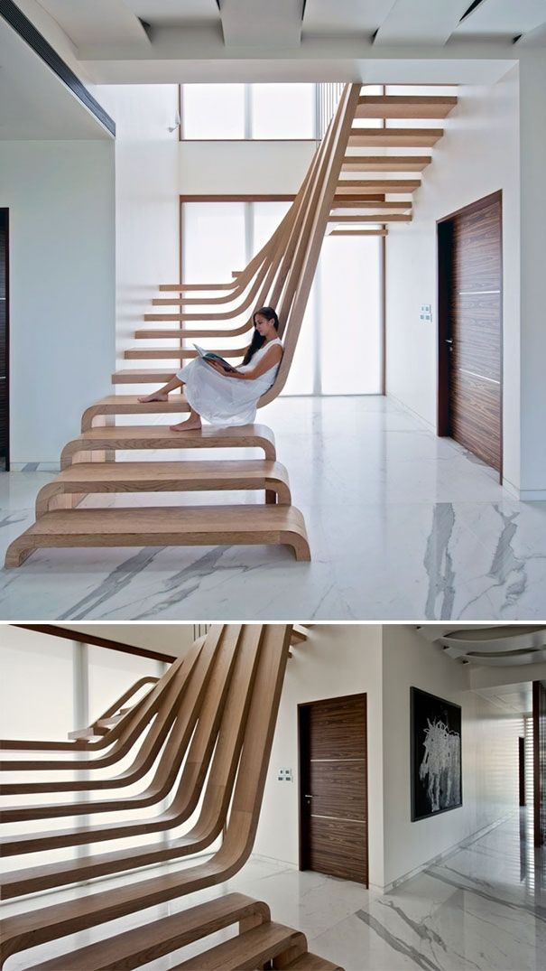 Contemporary Staircases 1 Cool Ideas Pinterest Architecture