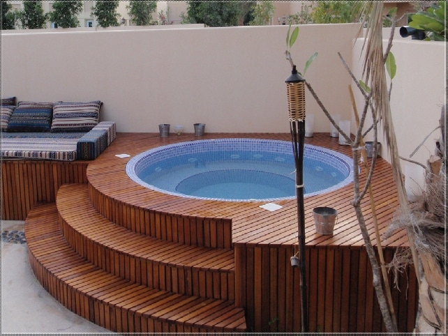 CONTORNO JACUZZI MADERA LEGEND Muebles Exterior 61 Best