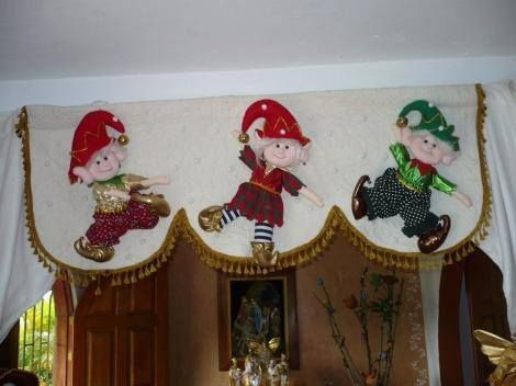 Cortinas Navide As Pin De Fabiola Nieto En NAVIDAD Pinterest