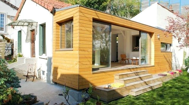 Cout Extension Bois 30m2 Stunning Maison M Info