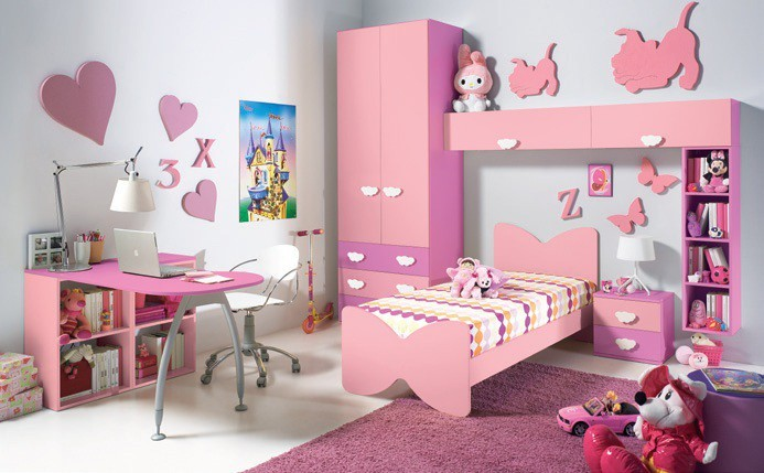 Cuartos Para Ni As Grandes Color Rosado Caprichosas 25 Ideas