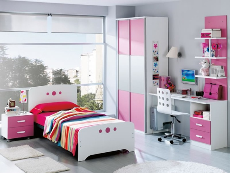 Cuartos Para Ni As Grandes Color Rosado Como Decorar Un Dormitorio