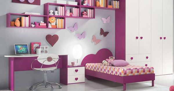 Cuartos Para Ni As Grandes Color Rosado Ideas De Decoraci N