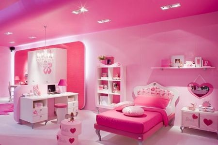 Cuartos Para Ni As Grandes Color Rosado Qu Es El Ideal Decorar Tu