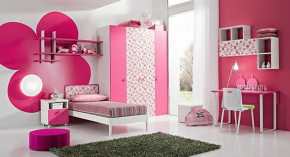 Cuartos Para Ni As Grandes Color Rosado Qu Es El Ideal Decorar
