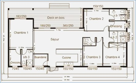 Cuisine Plans De Construction Maison Plan
