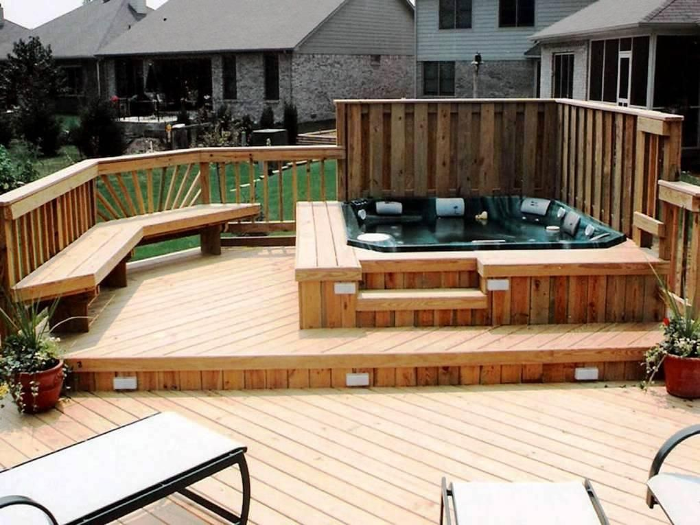 Deck Ideas Pictures Pool And Spa Decks Photo