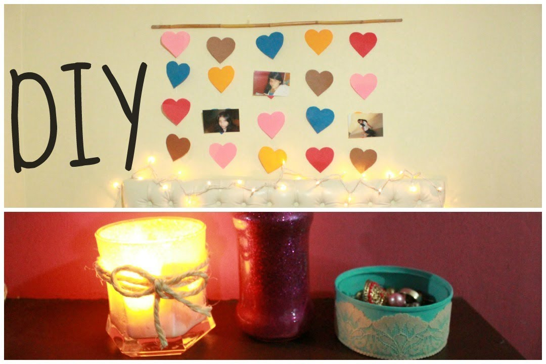 DECORA TU HABITACION DIY 4 IDEAS
