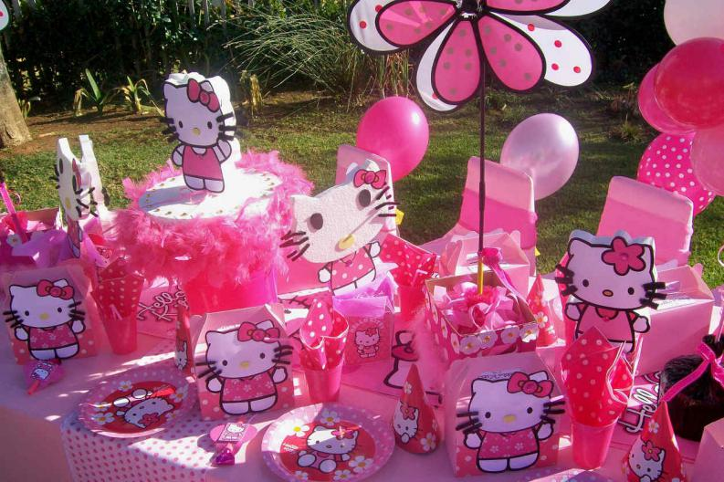 Decoraci N De Fiestas Infantiles Hello Kitty VIX