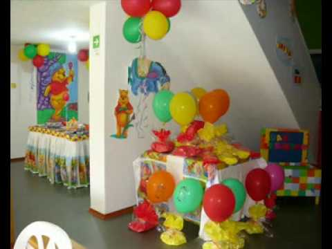 Decoraci N De Fiestas Infantiles YouTube