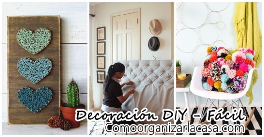 Decoraci N DIY F Cil Decoracion De Interiores Fachadas Para