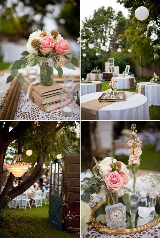 Decoraci N Para Bodas R Stica Y Shabby Chic Vintage Decoration