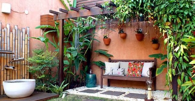 Decoracion De Jardines Rusticos Youtube Of Jardin Rustico