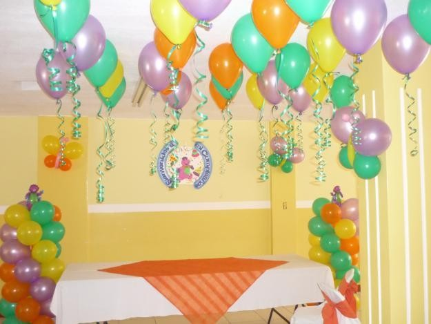 Decoraciones Infantiles Con Globos Ideas Para Decorar Una