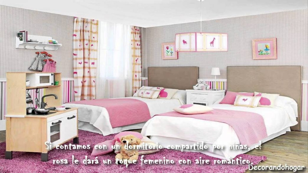Decorar Dormitorio Nina Color Rosado Decoracion Para Como Pintar Un