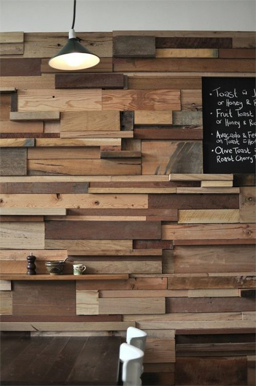 Decorar Paredes Con Trozos De Madera Fake Brick Wall In