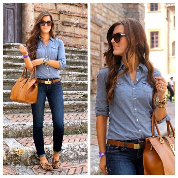 Denim On Paired With Leopard Stitch Fix Pinterest Moda