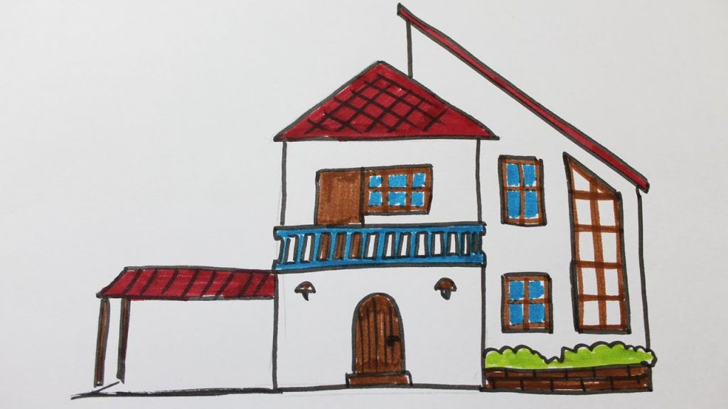 Dessin De Maison Facile 014 05 Choosewell Co Ipsita