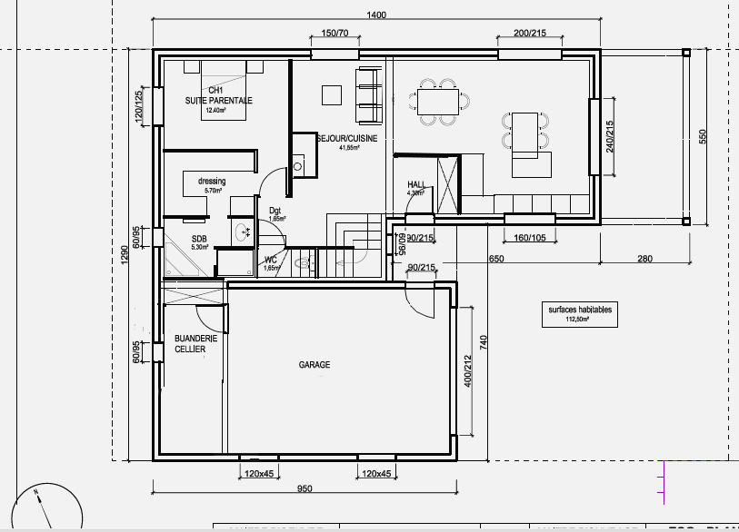 Dessiner Plan Maison Gratuit Beautiful Cool Environ M
