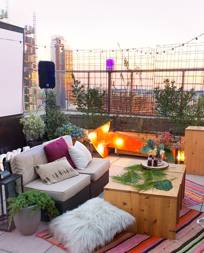 DIY PARTY Boho Chic Pinterest Terrazas Patios Y Casa