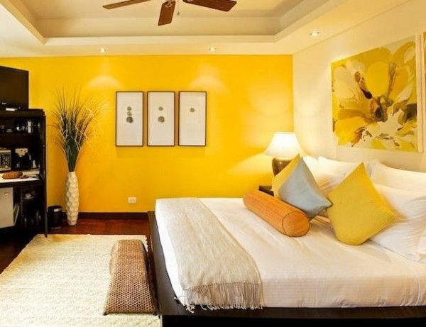 Dormitorio Amarillo La Magia Del Color En 2018 Pinterest