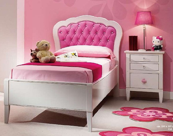 DORMITORIO COLOR ROSA PARA NI As DORMITORIOS CON ESTILO Dise O