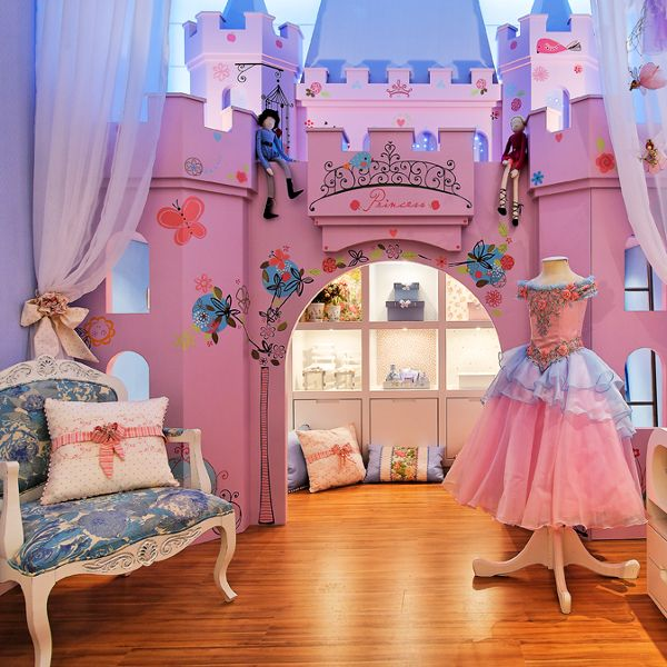 DORMITORIO DE PRINCESA CON CASTILLO PARA NI As Via Www Dormitorios