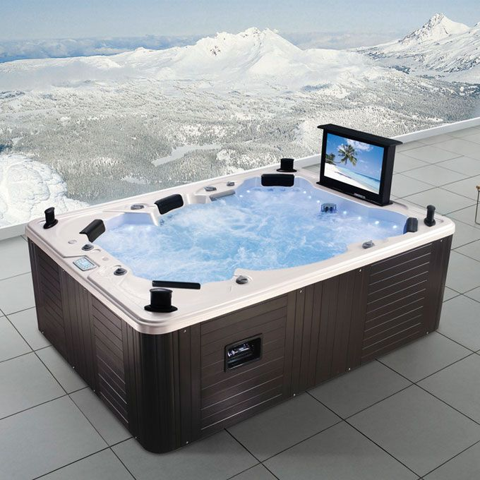 Euromax Cinema Outdoor Spa Spas 2012 Pinterest