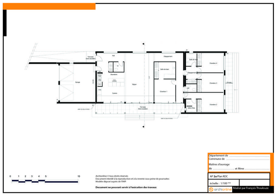 Exemple De Plan Maison Gratuit Modele Construction Plans Gratuits